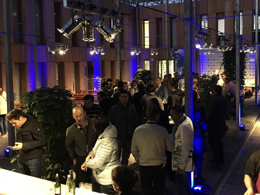Eclairage d'un événement d'entreprise, Euro Space Center