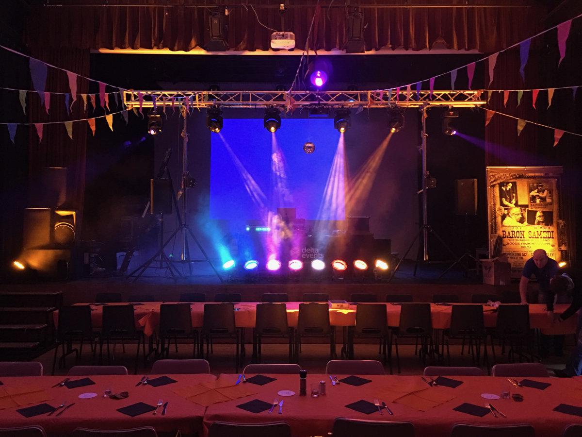 Repas et soirée dansante du Bonhomme Hiver, CC De Moelie, Linkebeek